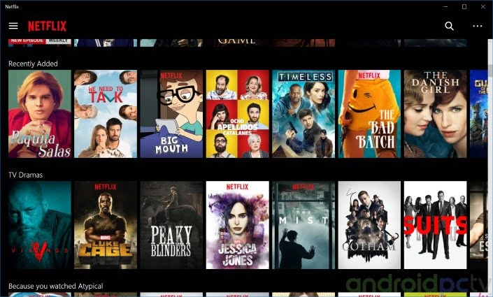 Netflix in HD and 4K for Android, a small guide | AndroidPCtv