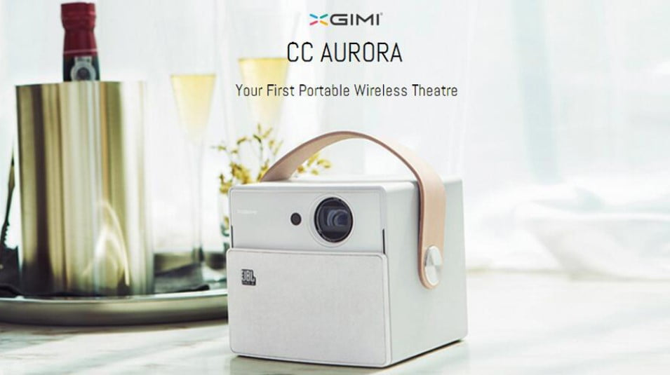 XGIMI CC Aurora a high-end projector HD with Android | AndroidPCtv