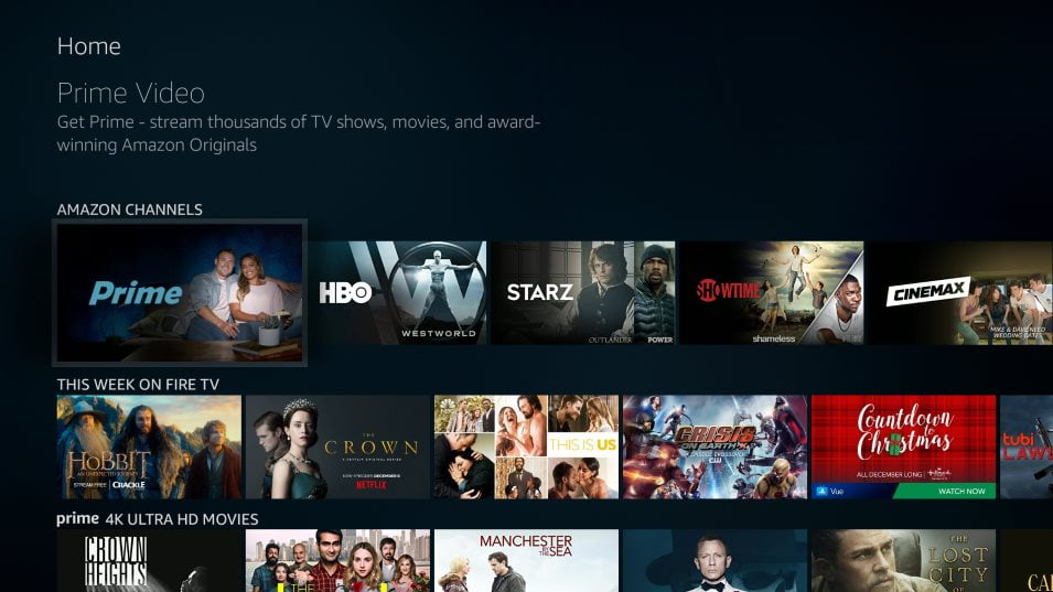 User guide to watch Amazon Prime Video in HD and 4K quality