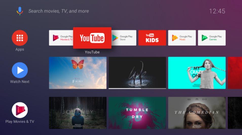 Android Tv Home The New Launcher For Android Tv Oreo Available