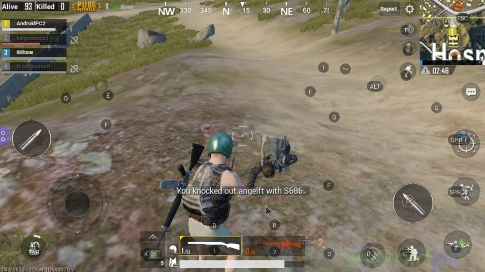 PUBG MOBILE on Android, compatibles TV-Box and how to play