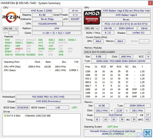 Review Amd Ryzen 5 2400g And Ryzen 3 2200g Apu With Integrated Vega