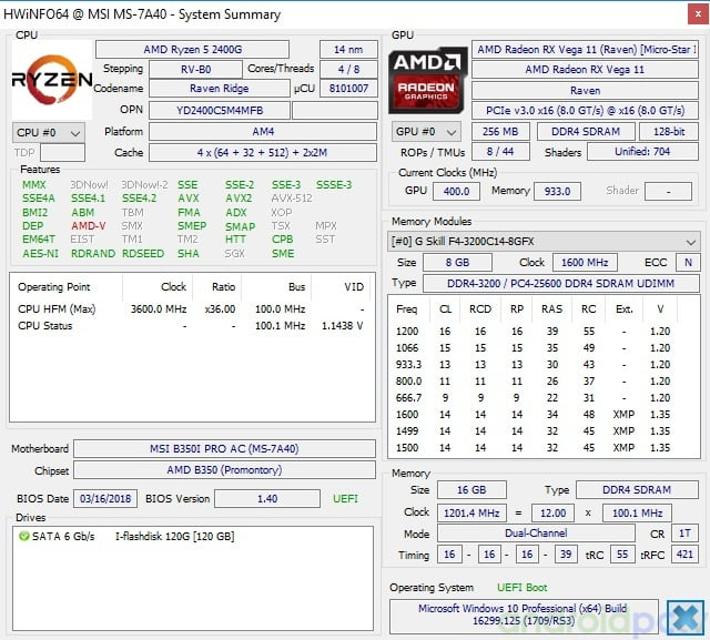 REVIEW: AMD Ryzen 5 2400G and Ryzen 3 2200G APU with