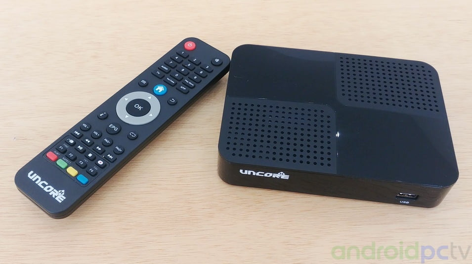 REVIEW: UncoreX a Android TV-Box with satellite receiver and