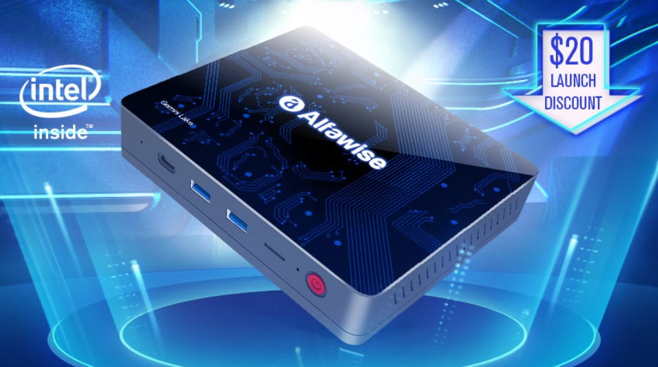 Alfawise T1 a mini PC already in stores include a special launch offer