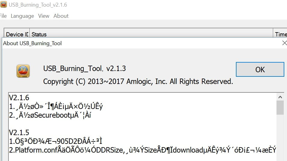 New Amlogic Usb Burning Tool V2 1 6 Tool Released Androidpctv