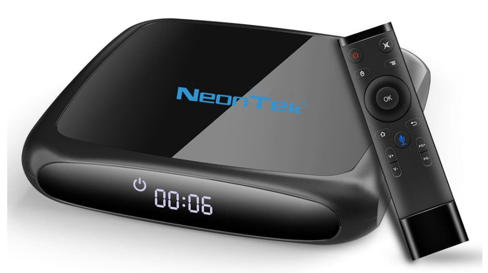 NEONTEK N11 a new Chinese TV-Box that gets Android TV OS