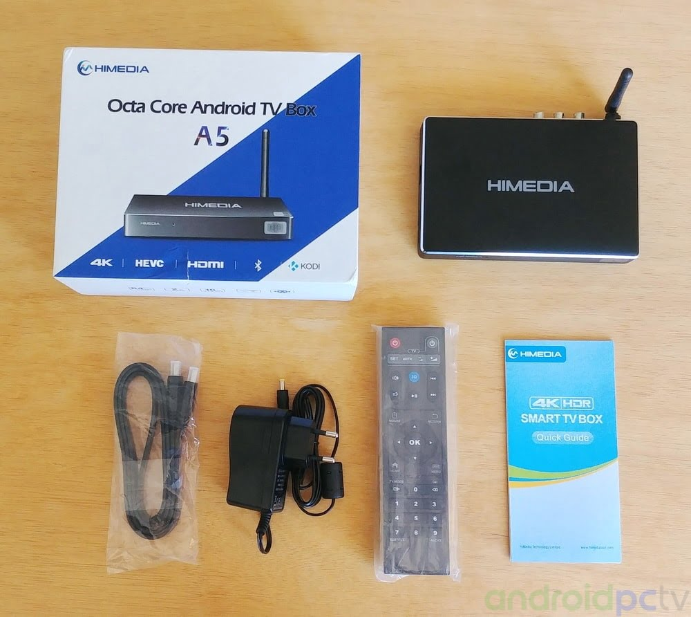 REVIEW: HiMedia A5 based on the Amlogic S912 Octa core SoC