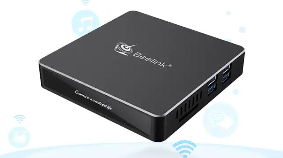 beelink n41  DEAL: Beelink N41 a passive miniPC with 6GB of RAM and 128GB SSD ...