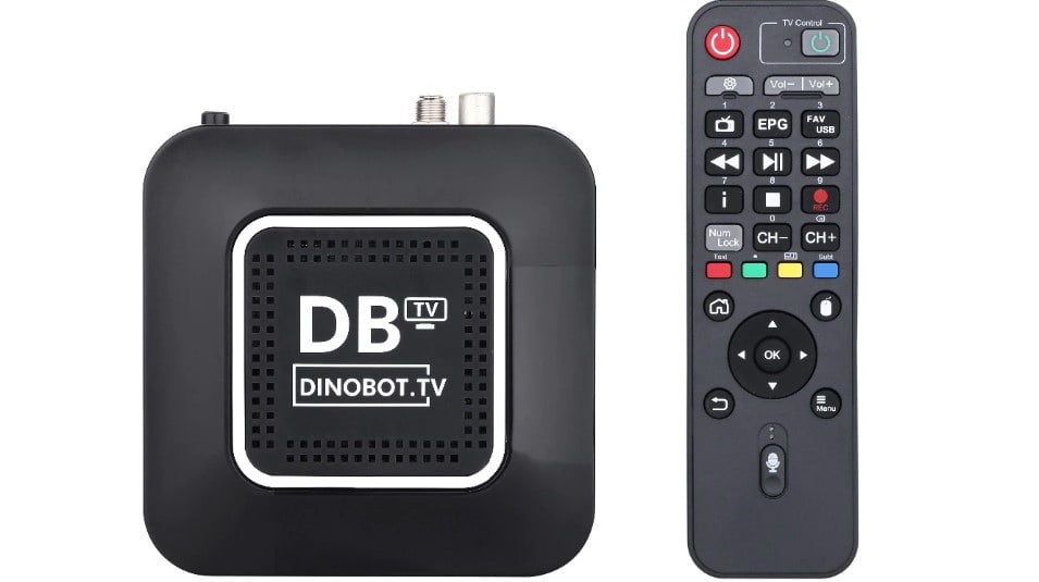 Android TV, Enigma 2 and dual tuner in the new Dinobot U5 Mini