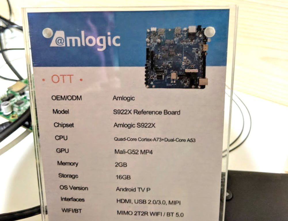 The new Amlogic S922X SoC spotted in a benchmark | AndroidPCtv