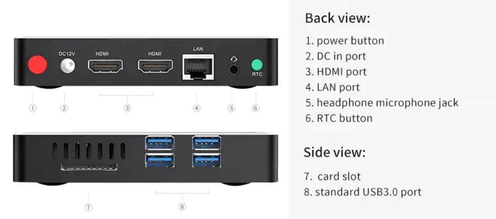 beelink n41  Beelink N41 and N50, two new mini PCs with Intel Gemini Lake ...