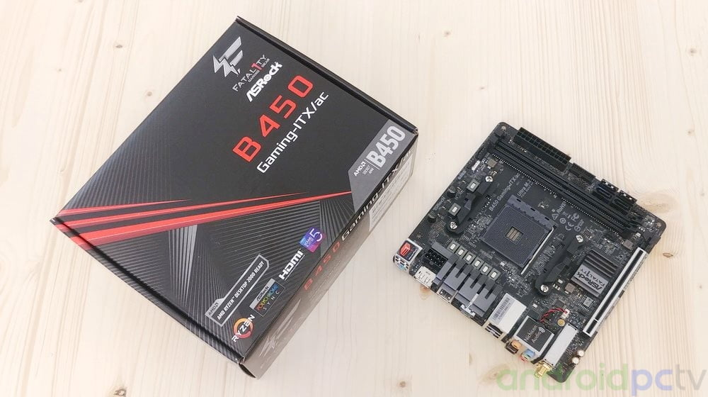 REVIEW: ASRock Fatality B450 Gaming-ITX/AC | AndroidPCtv