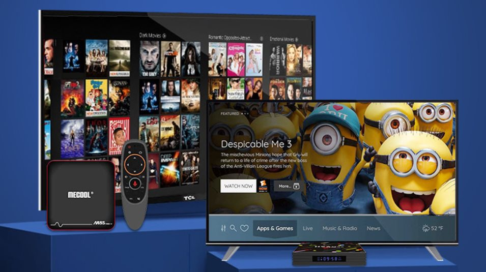 Special offers on Android TV-Box in Geekbuying with free