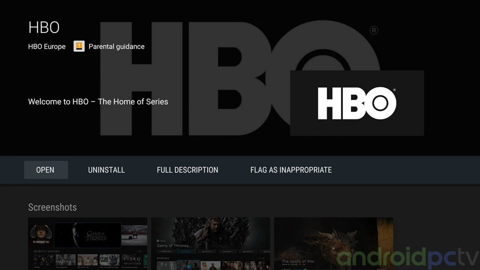 HBO Nordic app now available for Android TV devices | AndroidPCtv