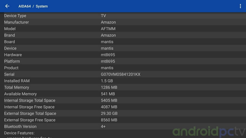 amazon fire tv serial number decoder