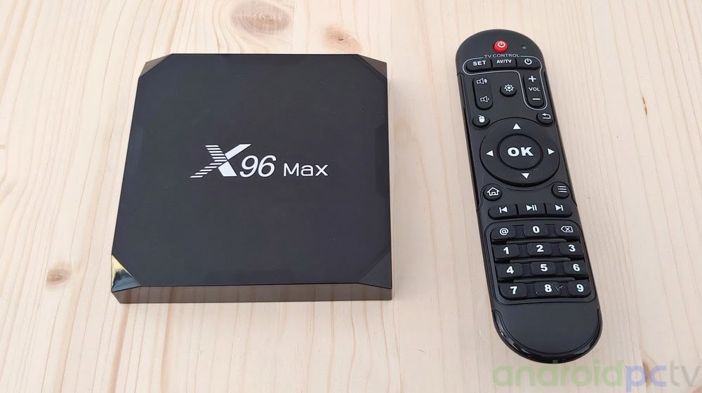FIRMWARE: X96 Max with AMlogic S905X2 SoC with 4GB RAM (02