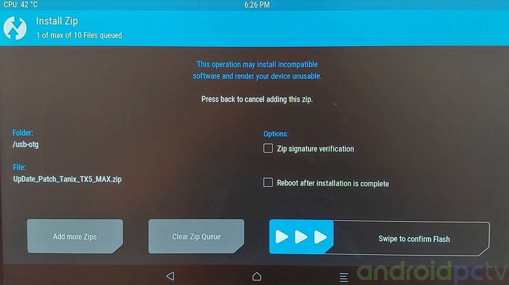 TUTORIAL: How to execute TWRP in the Android TV-Box with Amlogic SoC