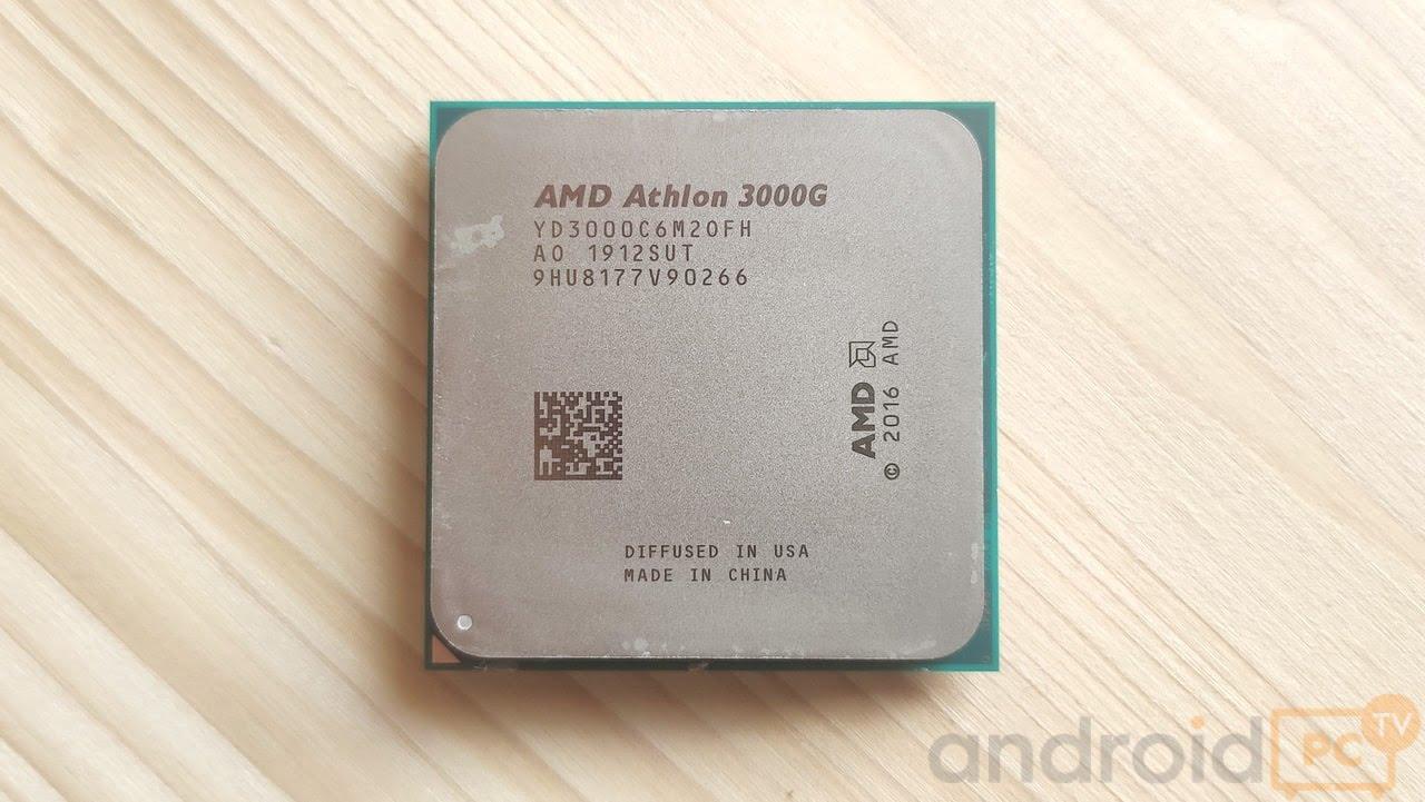 Review Amd Athlon 3000g With Integrated Gpu Radeon Vega 3 Androidpctv