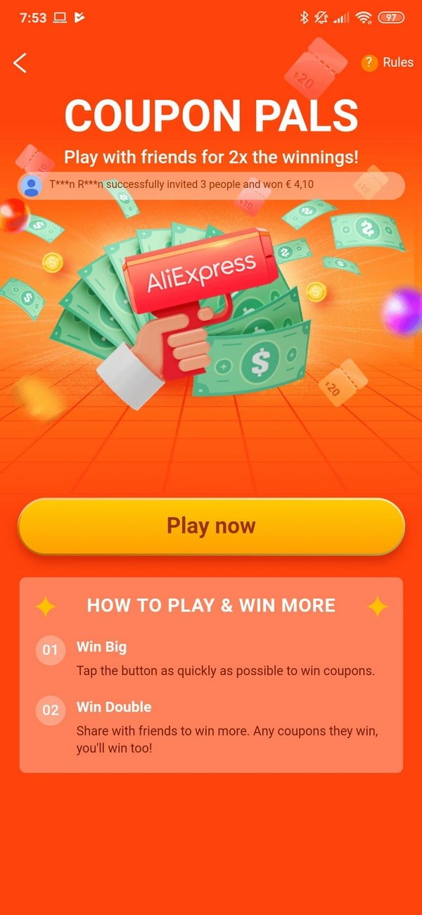 Play To Win Big Discounts With Coupon Pals On Aliexpress Androidpctv